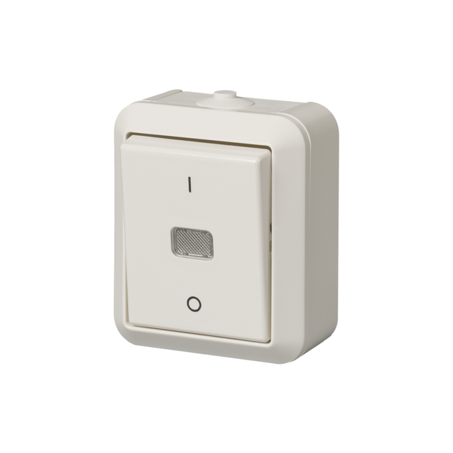 2-pole switch, IP44: 1062SW | ABB Oy, Wiring accessories