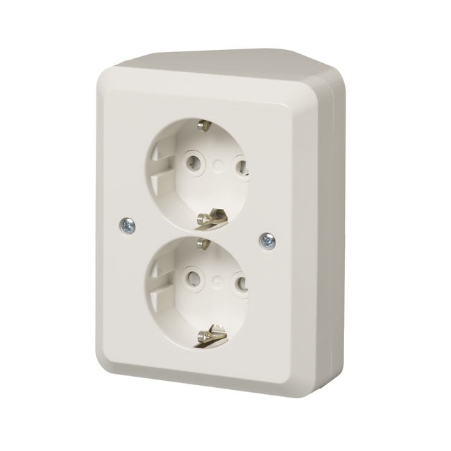 2 gang schuko socket outlet corner installation ip21 402eae product card asfbconference2016 Choice Image