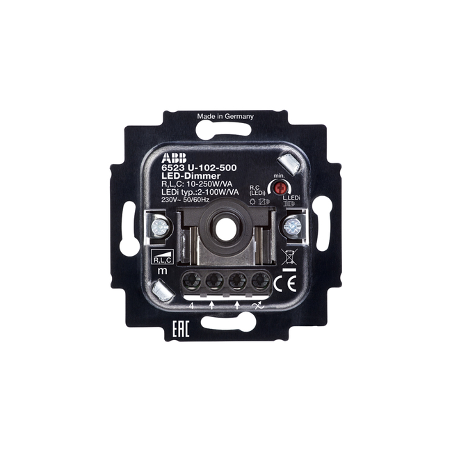 Led Dimmer With Rotary Control 6523u 102 500 Abb Oy