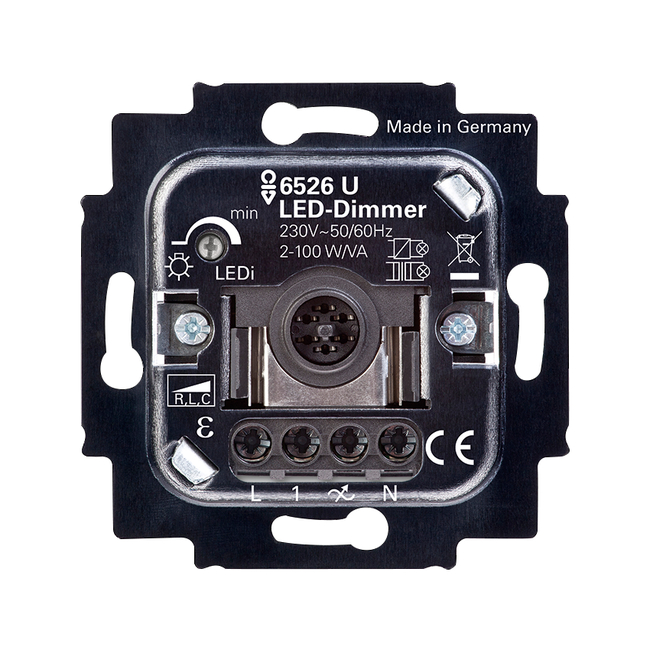 led touch dimmer 6526u 500 abb oy wiring accessories. Black Bedroom Furniture Sets. Home Design Ideas